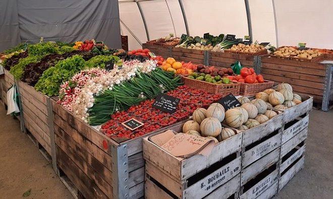 Maraicher local Guérande Légumes fruits boutique vue